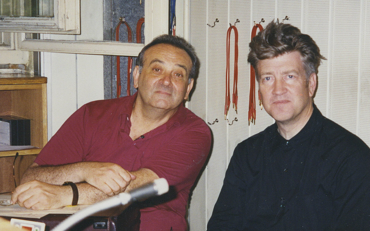 Angelo Badalamenti & David Lynch 1996
