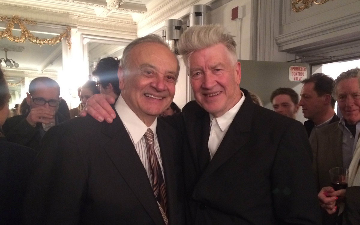 Angelo Badalamenti & David Lynch 2014