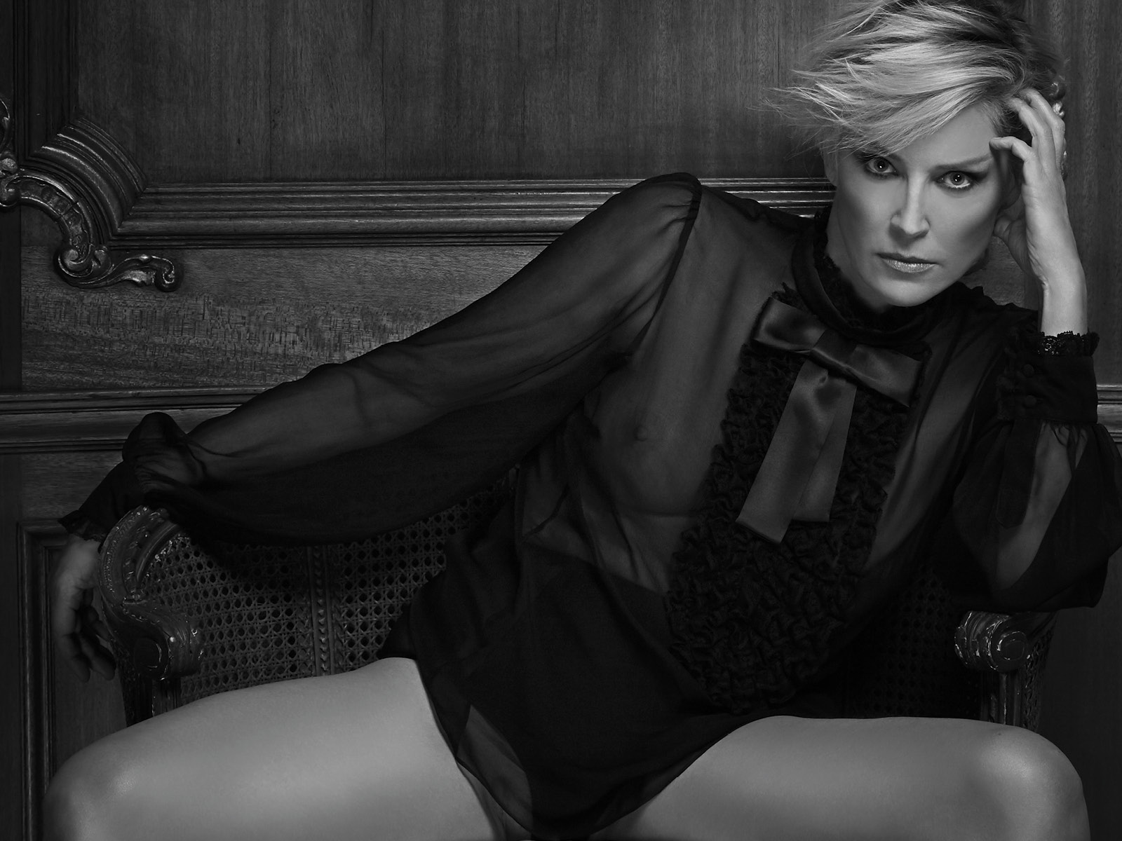 Spirit & Flesh magazine - Sharon Stone -