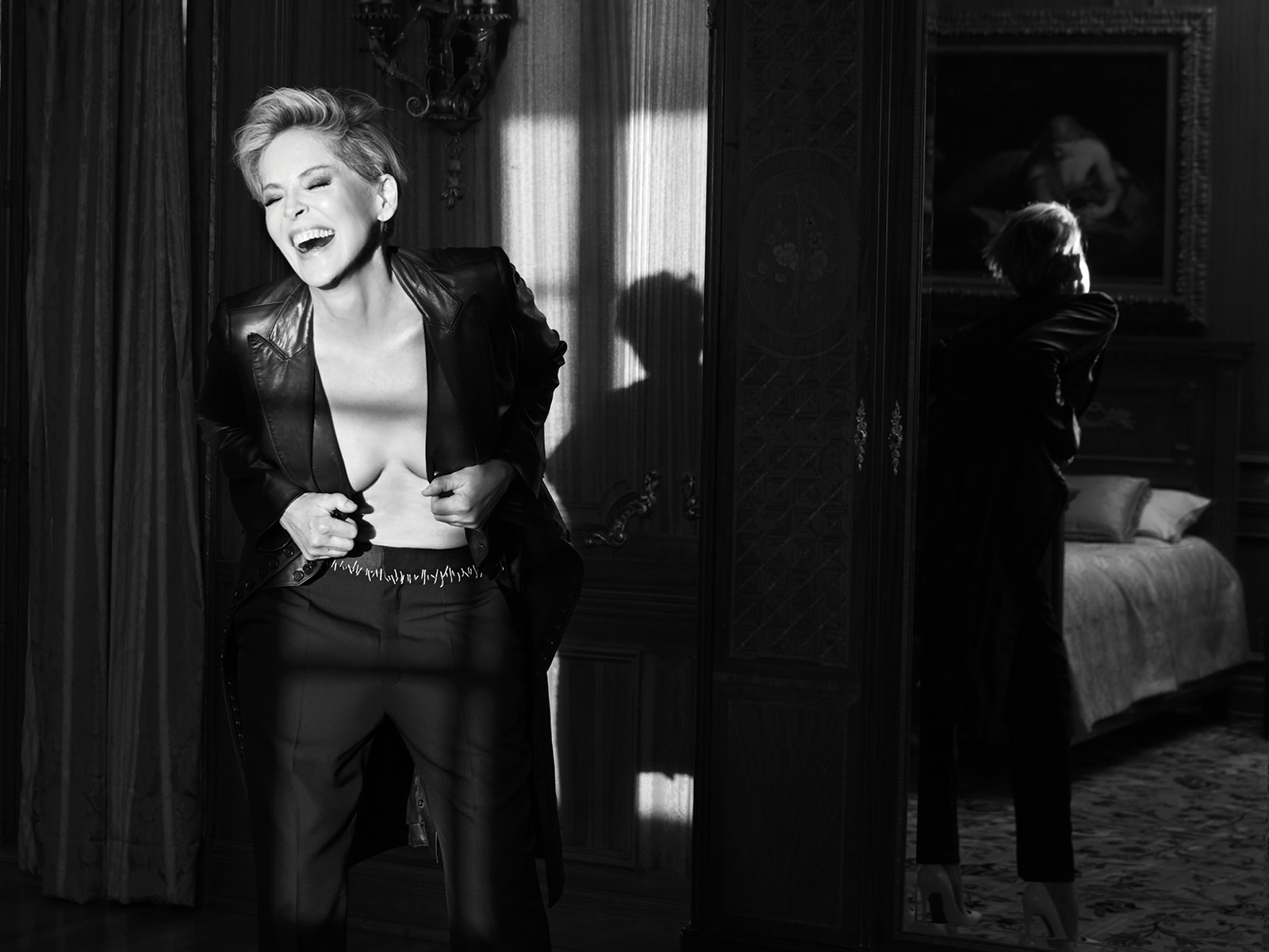 Spirit & Flesh magazine - Sharon Stone - 7