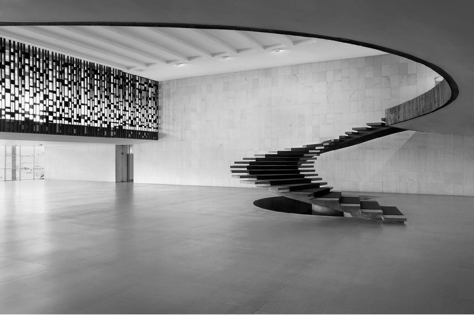 Staircase at the Itamaraty Palace, 2011