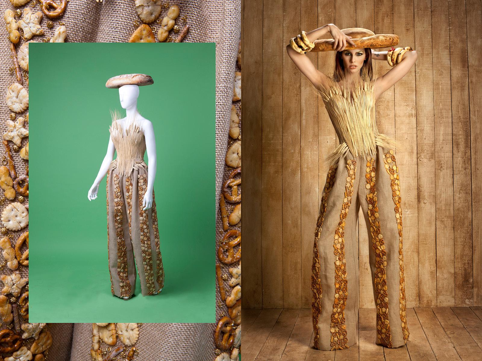 Gattinoni Couture - BREAD DRESS