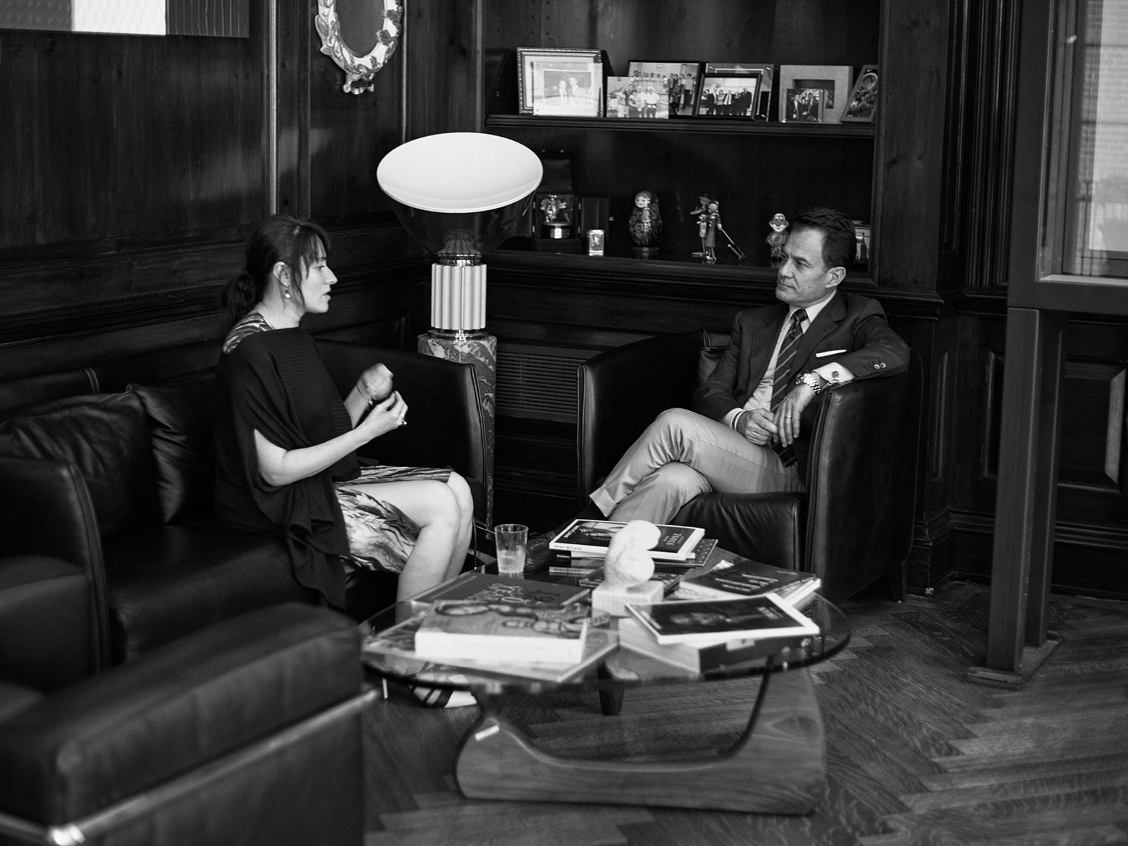 Yelena Deyneko with Maurizio Forte