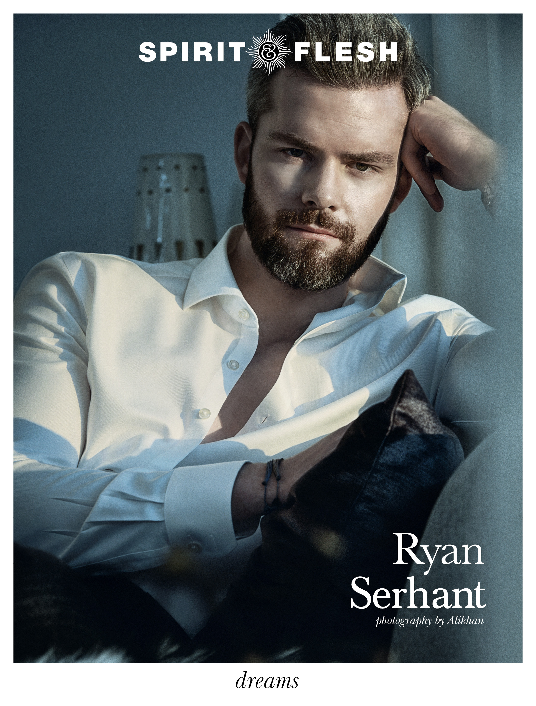 5-Spirit-&-Flesh-Magazine_Dreams-issue-Cover_RYAN SERHANT by Alikhan