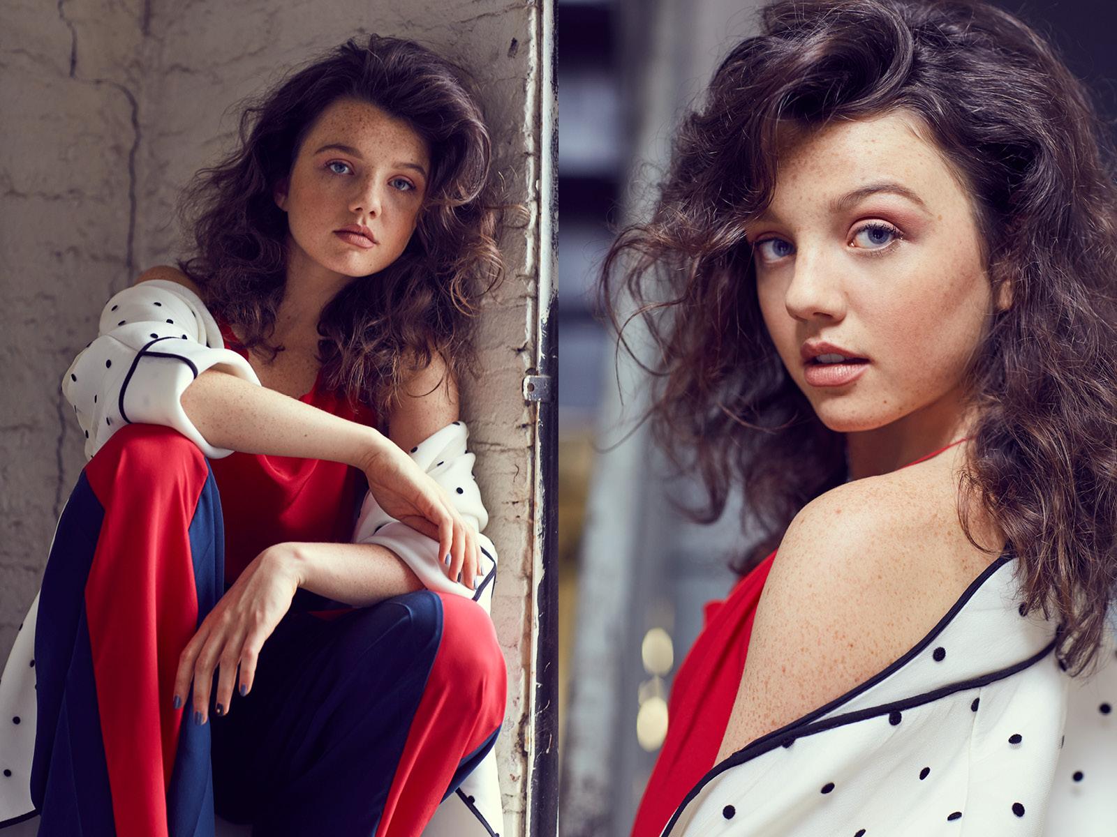 jacket Monzlapur / pants and top Elena Rudenko