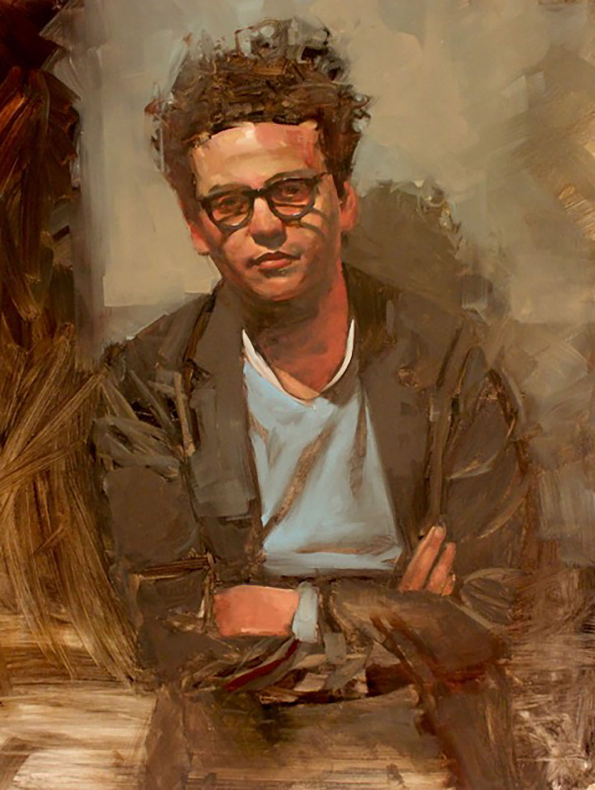 Georges Berges, portrait by Michael Carson
