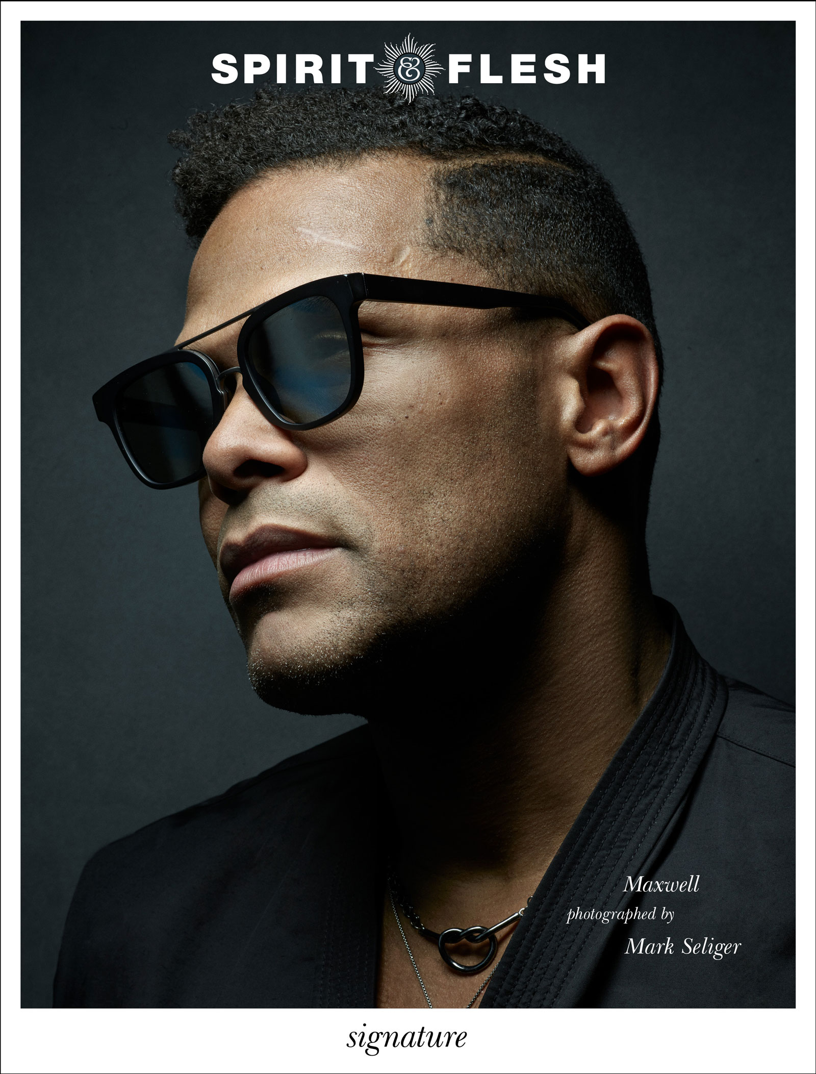 Maxwell photographed by Mark Seliger