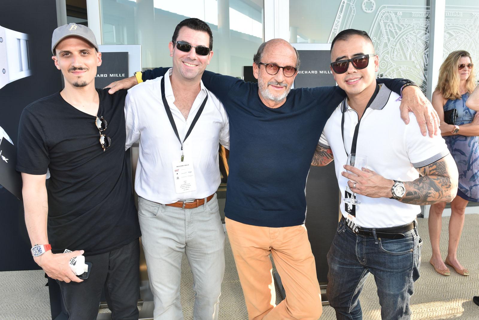 Alex Mille, Ron Alalouf, Richard Mille, Joe Park / The Bridge 2017 / Former Bridgehampton Race Circuit, Bridgehampton, NY / September 16, 2017 / ©Patrick McMullan / Photo - Jared Siskin / PMC