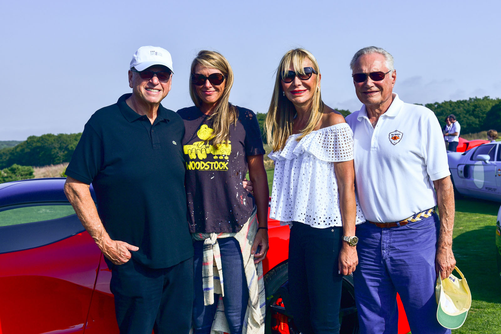 Howard Lorber, Susan Bordeau, Claudia Walters, Billy Walters / The Bridge 2017 / Former Bridgehampton Race Circuit, Bridgehampton, NY / September 16, 2017 / ©Patrick McMullan / Photo - Sean Zanni / PMC