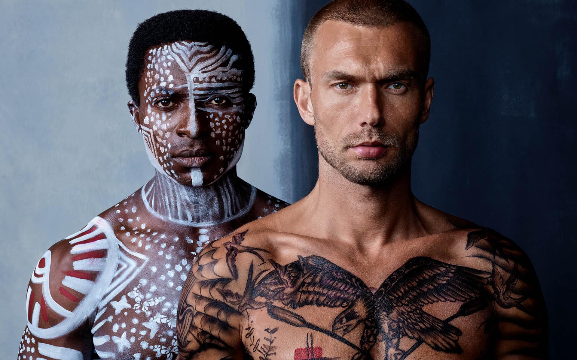 Models FEMI OLAGOKE & MARCUS ANDERSSON