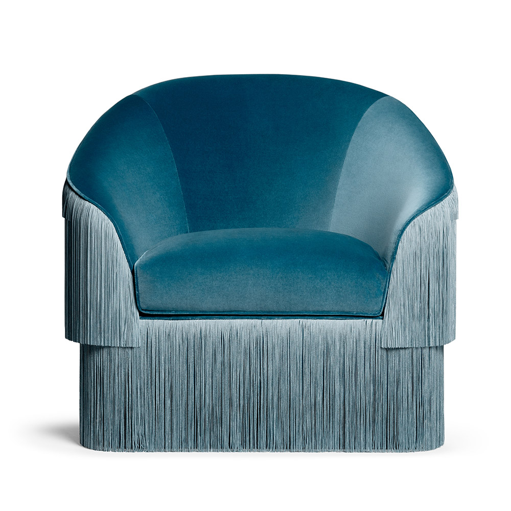 Fringes Armchair by Munna