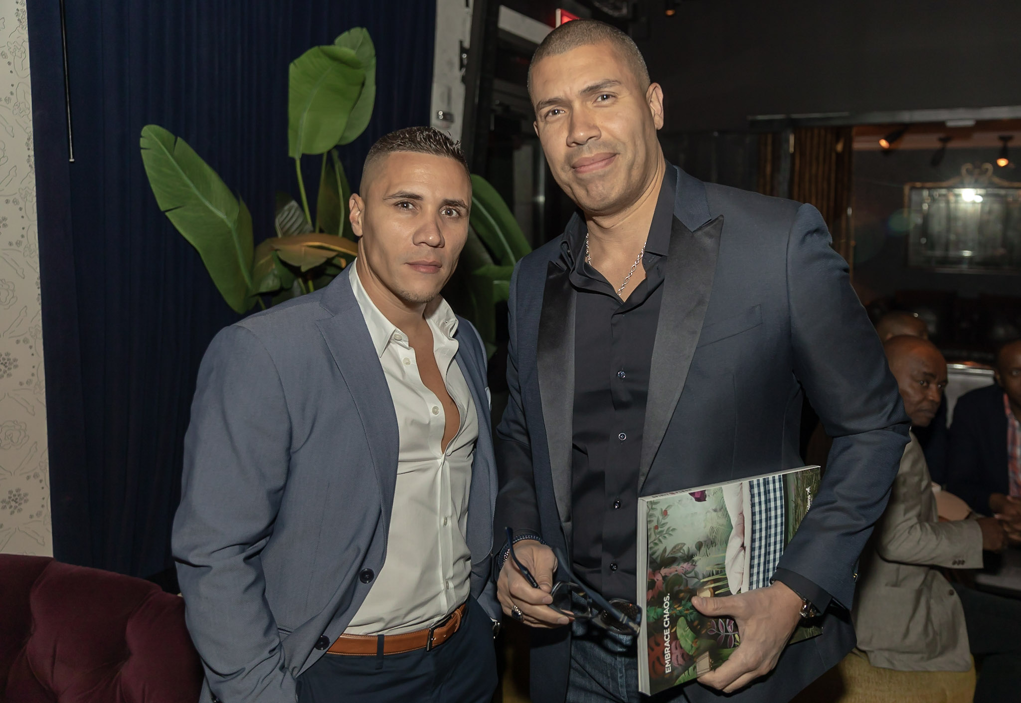 Spirit & Flesh Magazine Jussie Smollett cover event, David Tavarez & Daniel Acevedo by Kenneth de la Torre