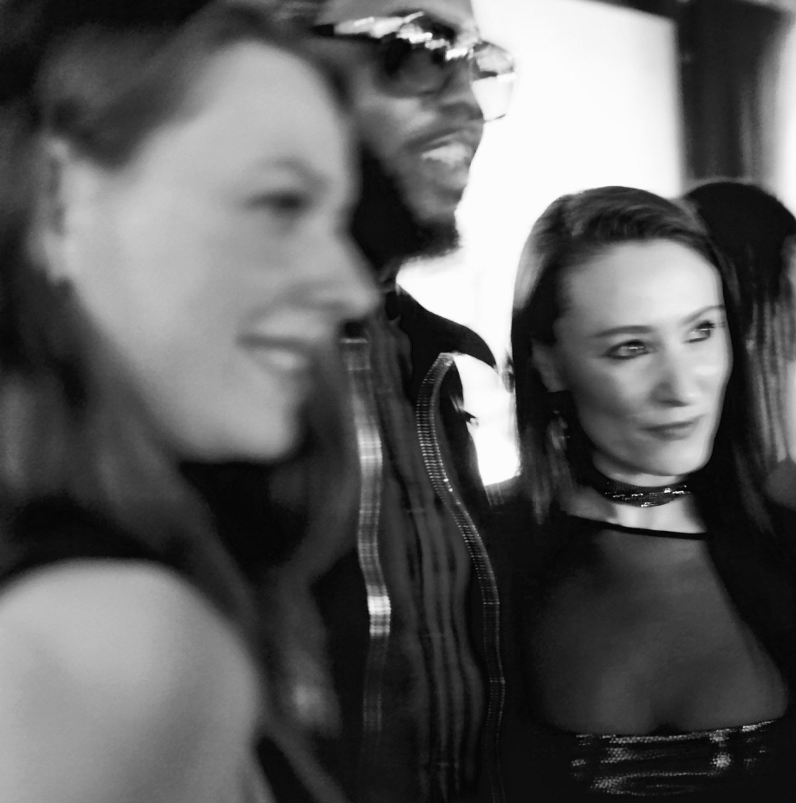 Spirit & Flesh Magazine Jussie Smollett cover event, Vasilisa Deyneko MusicMan-Ty & Yelena Deyneko by Antonio Navas
