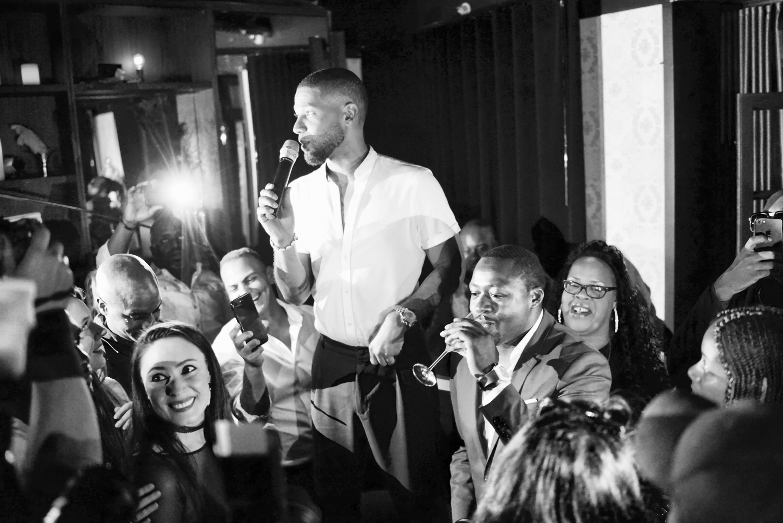 Spirit & Flesh Magazine Jussie Smollett cover event by Antonio Navas