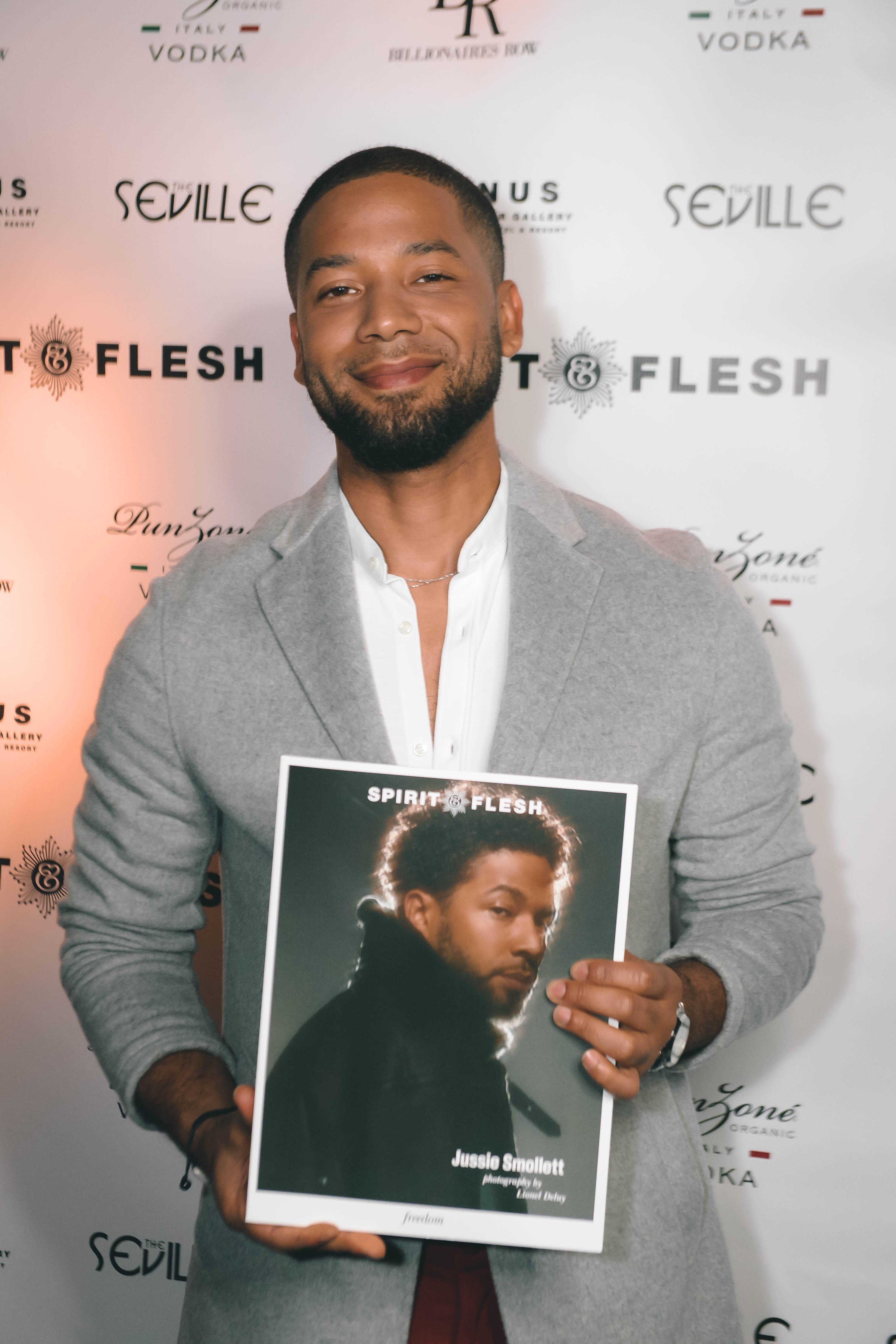 Spirit & Flesh Magazine Jussie Smollett cover event by Chuck Marcus