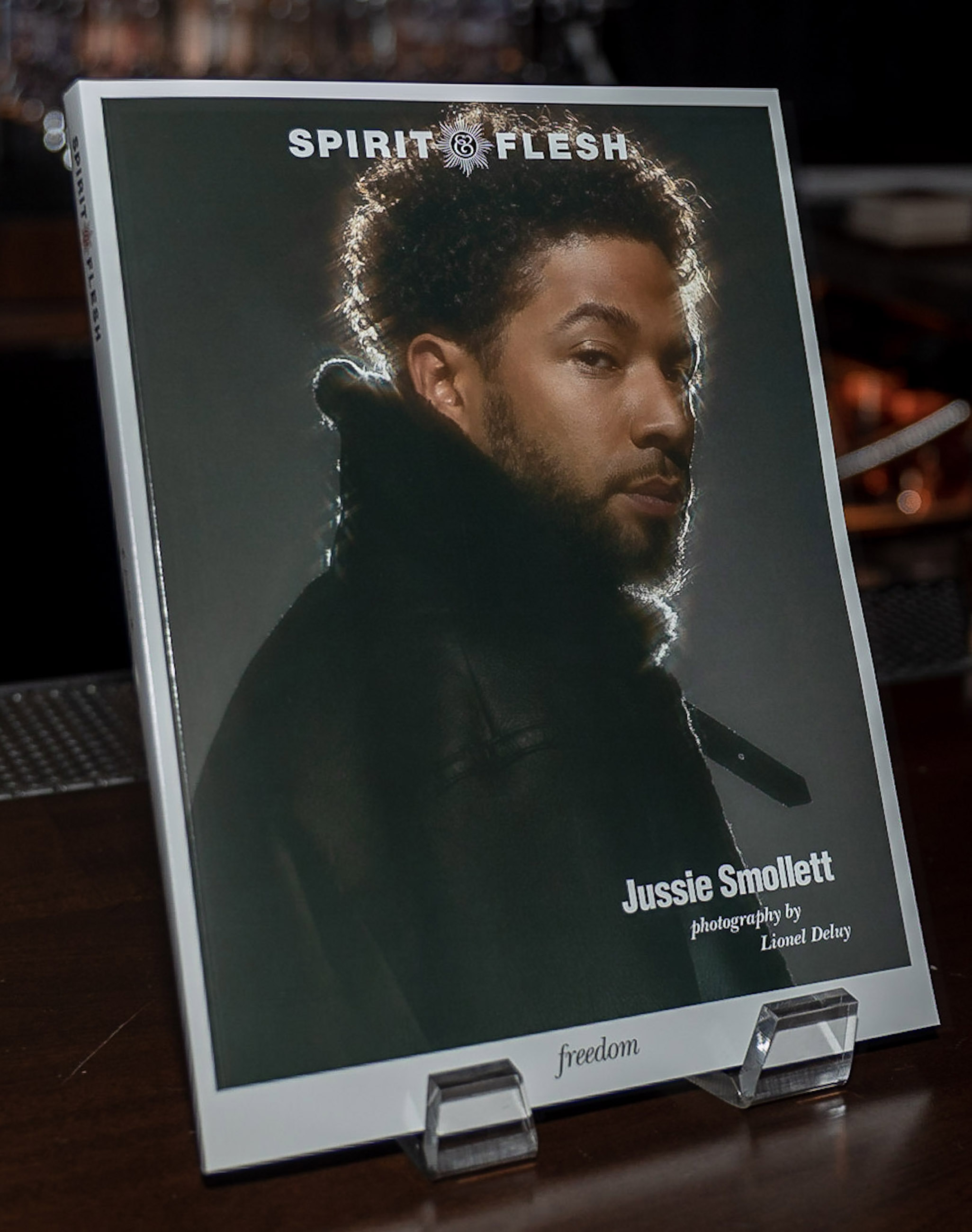 Spirit & Flesh Magazine Jussie Smollett cover event by Kenneth de la Torre