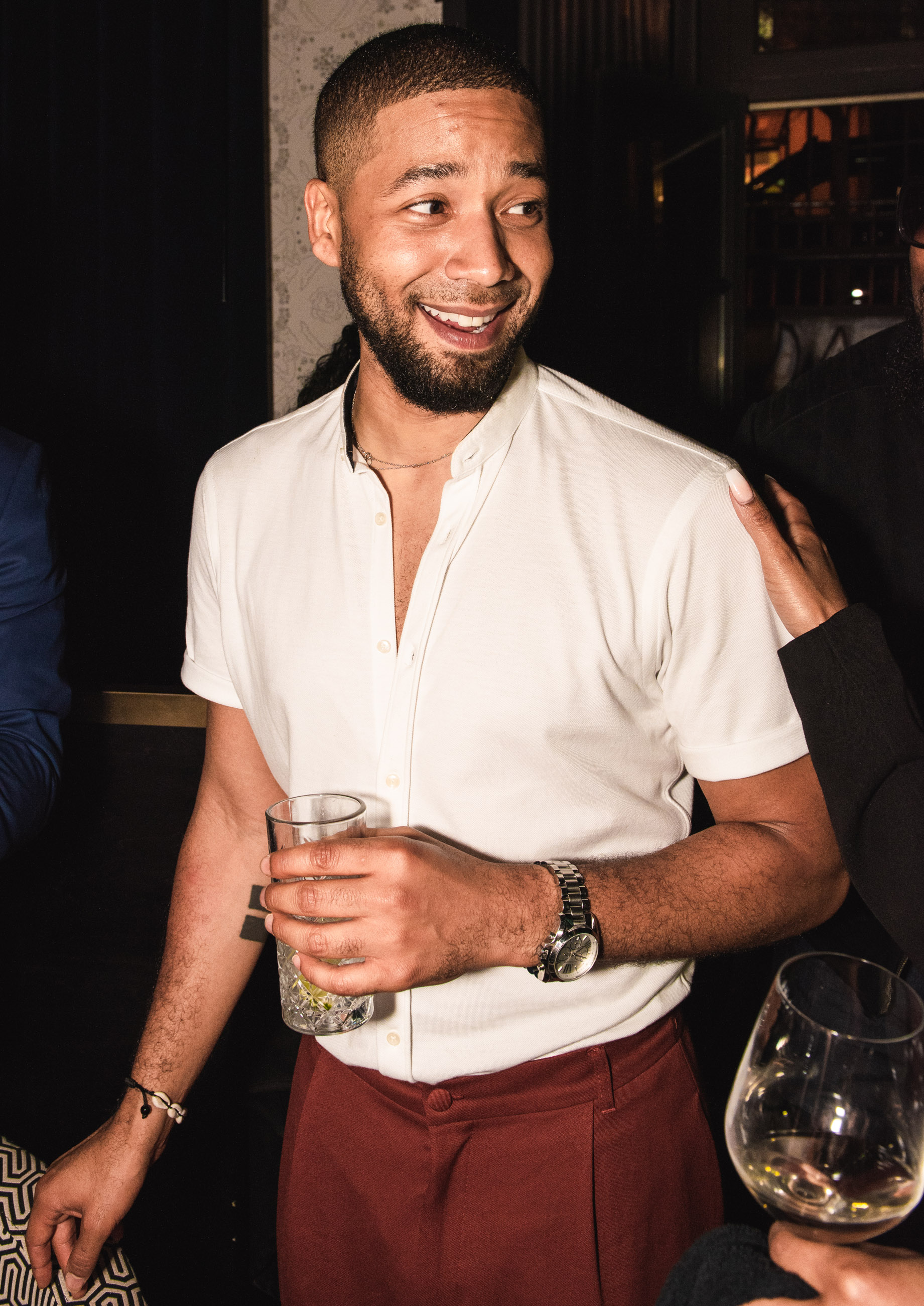 Spirit & Flesh Magazine Jussie Smollett cover event by Leo Urossov