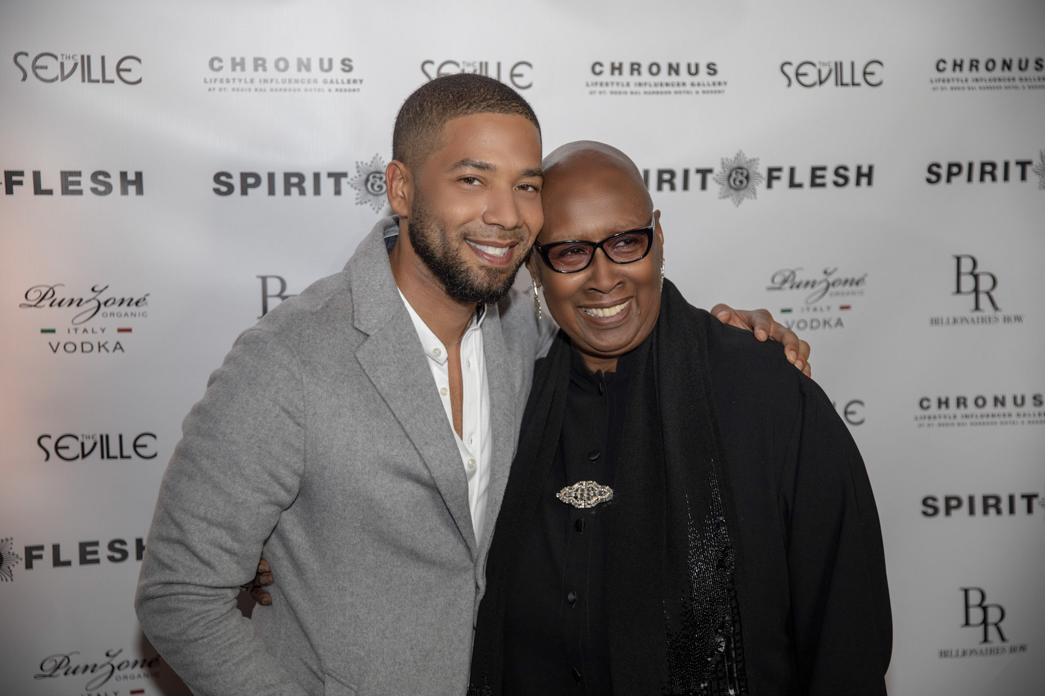 Spirit & Flesh Magazine cover event Jussie Smollett & Judith Jamison by Kenneth de la Torre 001