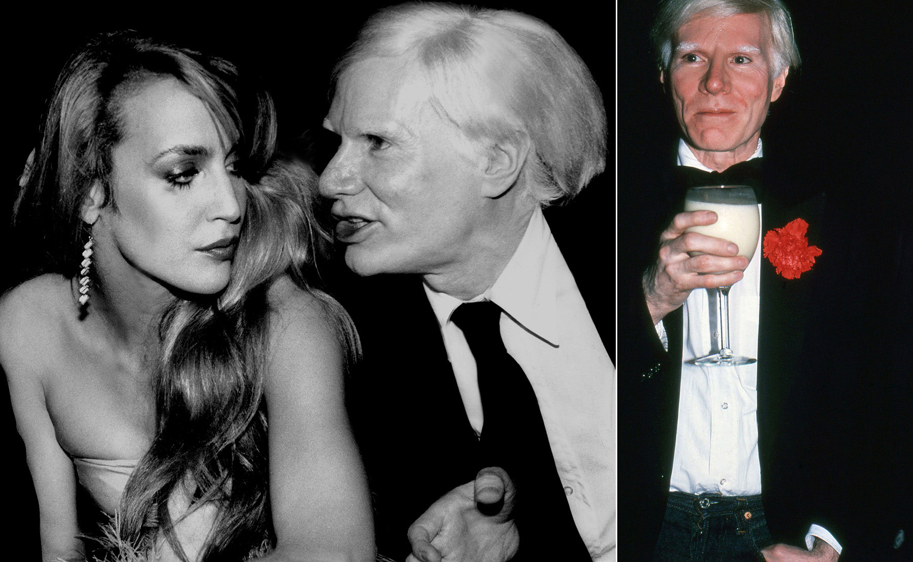 Spirit-&-Flesh-Magazine_LA-VIE-EN-ROSE_Jerry-Hall-&-Andy-Warhol_Andy-Warhol-at-Stuido-54_by_Rose-Hartman_