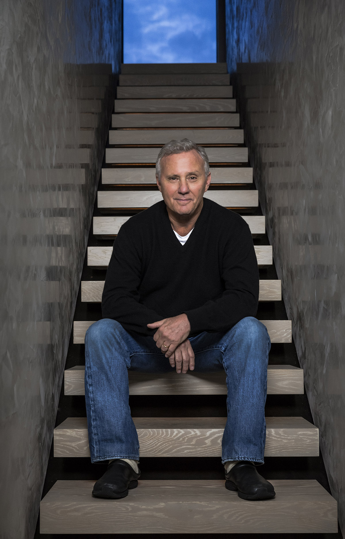 American Hotelier and Real Estate Developer Ian Schrager photographed at his home on the Lower East Side in New York. Chad Batka for The New York Times.